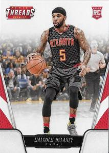 2016-17 Panini Threads Malcolm Delaney #161